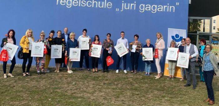 Vogteischule Oberdorla als Bewegungsfreundliche Schule 2020 ausgezeichnet