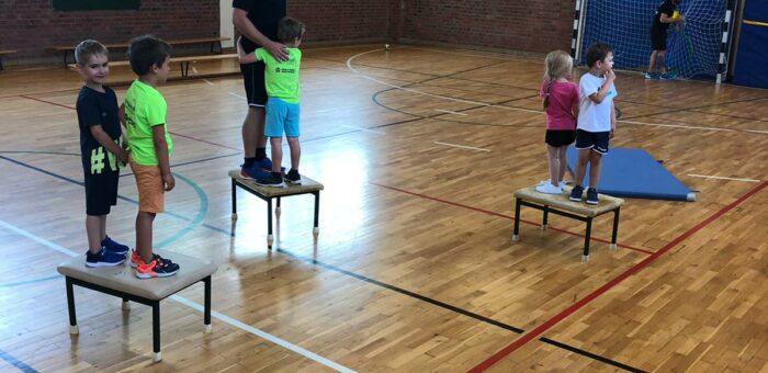 Kindersport und Super Minis laufen sehr gut wieder an