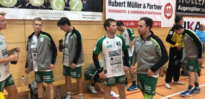 HSV Sömmerda 05 : Dorf Club I (15:9) 24:22