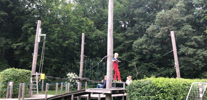 Kinder-und Jugendteams im Kletterwald Hainich
