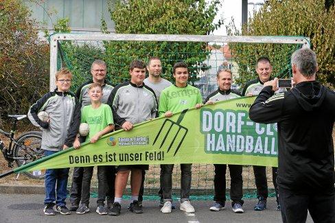 Ziel: Als Dorfclub-Handballer in die Thüringenliga